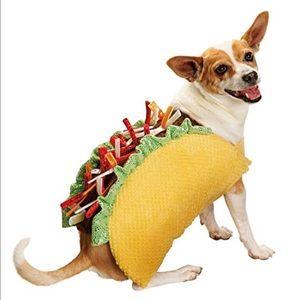 Halloween Taco Dog Costume XL Parade Party Play